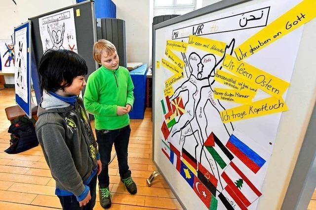 Pestalozzi-Realschule und Staudinger-Gesamtschule haben einen Tag gegen Rassismus veranstaltet