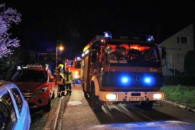 Feuer im Grenzacher Emilienpark schnell gelöscht