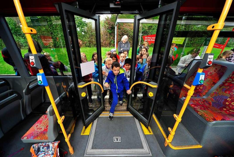 Auch die Busschule für Kinder setzt drei Wochen lang aus.  | Foto: Thomas Kunz