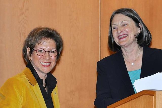 Marion Dammann wird für die zweite Amtszeit verpflichtet