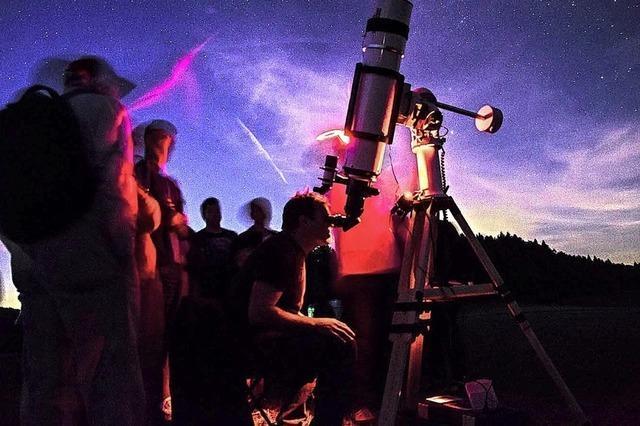 Der Astronomische Verein Ortenau lädt zu öffentlichen Beobachtungsabenden in der Region ein