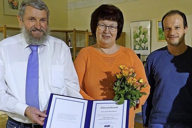 Gerda Baschnagel zum Ehrenmitglied ernannt