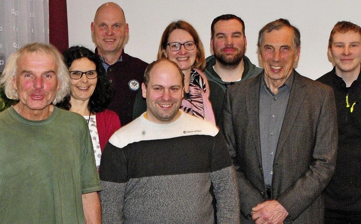 Der neue Vorstand des Leichtathletikkr...cker, Ottmar Heiler und Kevin Längin.   | Foto: Ottmar Heiler