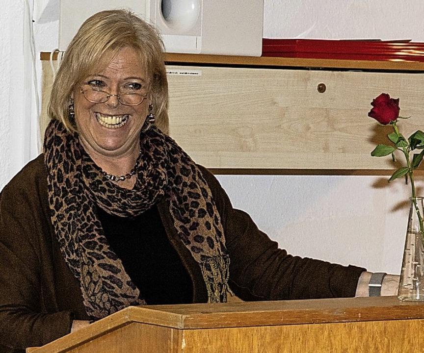 Sabine Wölfle referierte beim AWO-Frauencafé  | Foto: Gabriele Zahn
