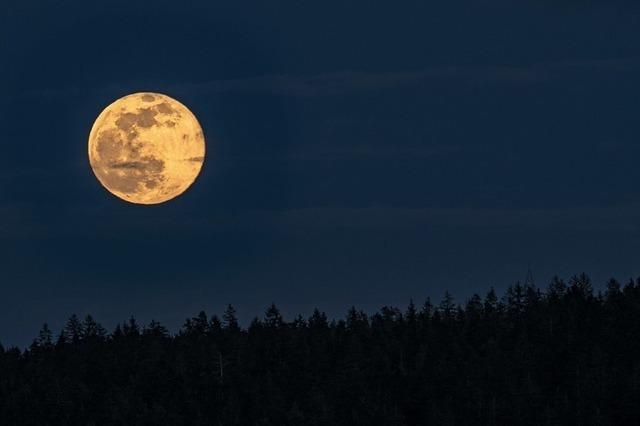 Wo ist der Mann im Mond?