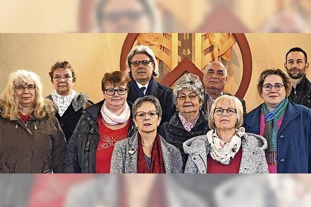 Zells Katholiken wählen