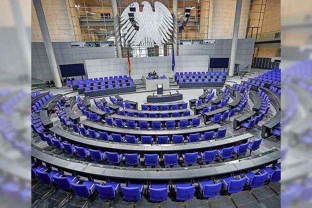 Der Bundestag ist noch ohne Notfallplan gegen Corona