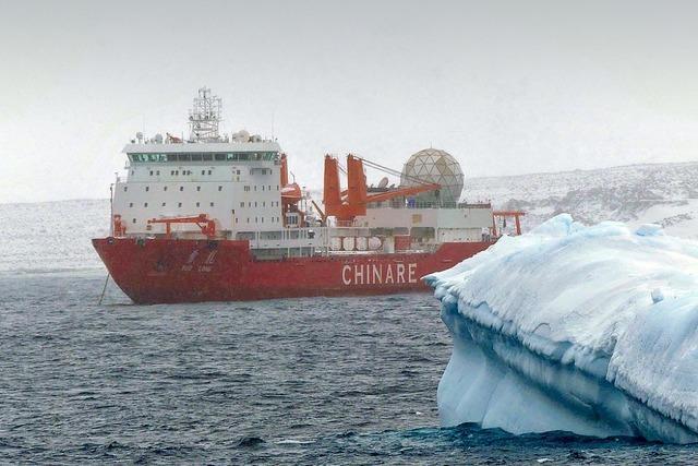 China zeigt Präsenz in der Antarktis