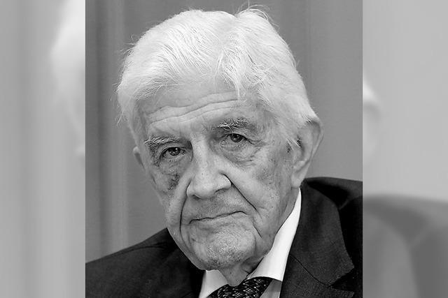 Trauer um FDP-Politiker Burkhard Hirsch