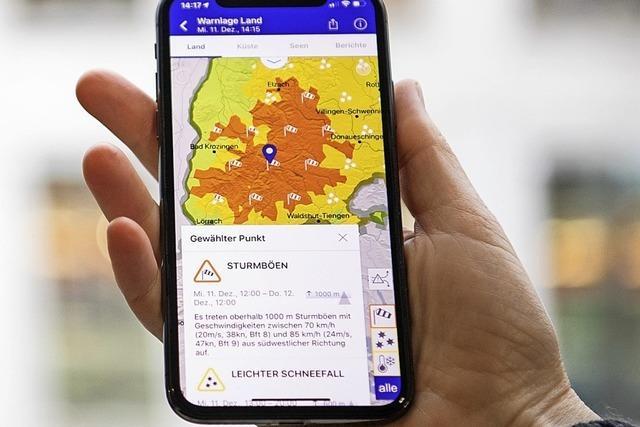 Wetter-App kann nicht kostenlos sein