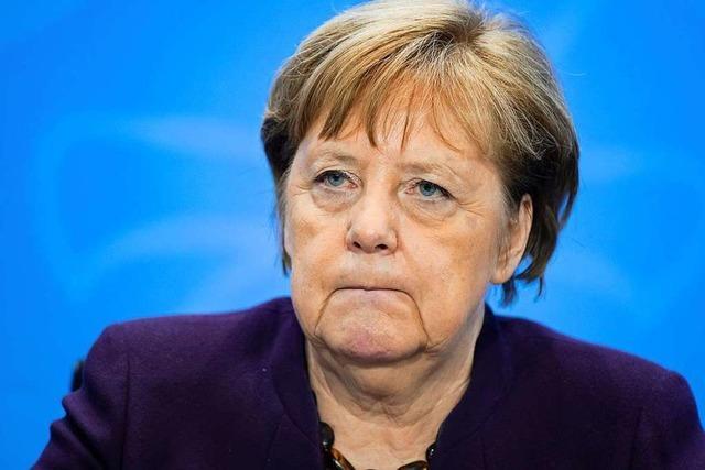 Kanzlerin appelliert, auch kleinere Verstaltungen abzusagen