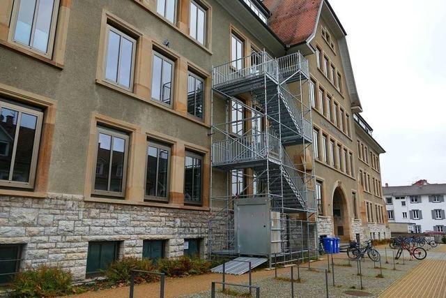 Das Hans-Thoma-Gymnasium in Lörrach ist ab sofort geschlossen