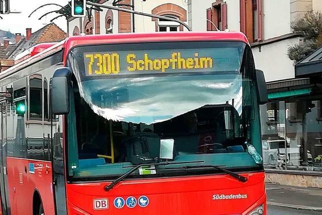Der Landkreis Lörrach baut die Buslinien aus