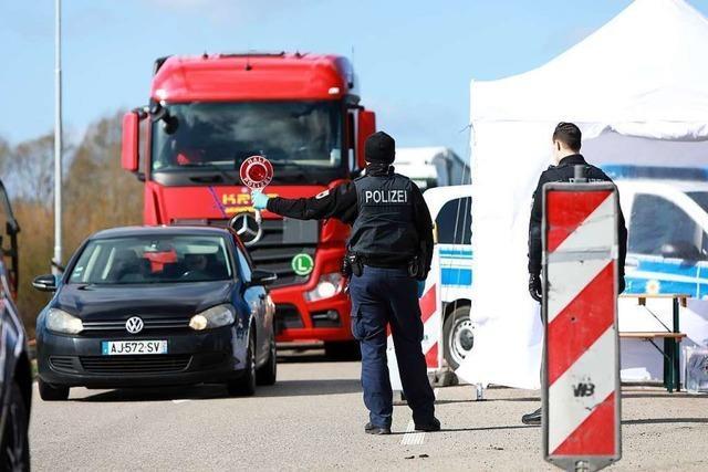Verstärkte Kontrollen an der Grenze zu Frankreich – wegen Corona