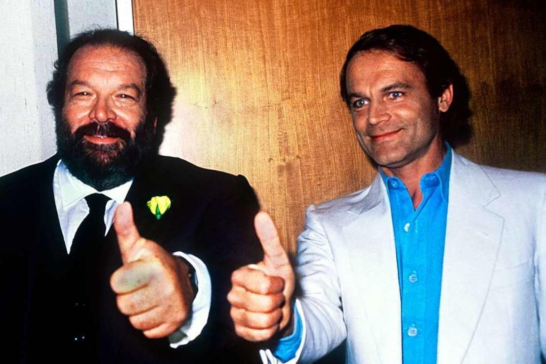Zwei starke Typen: Bud Spencer und Terence Hill    Foto: Istvan Bajzat