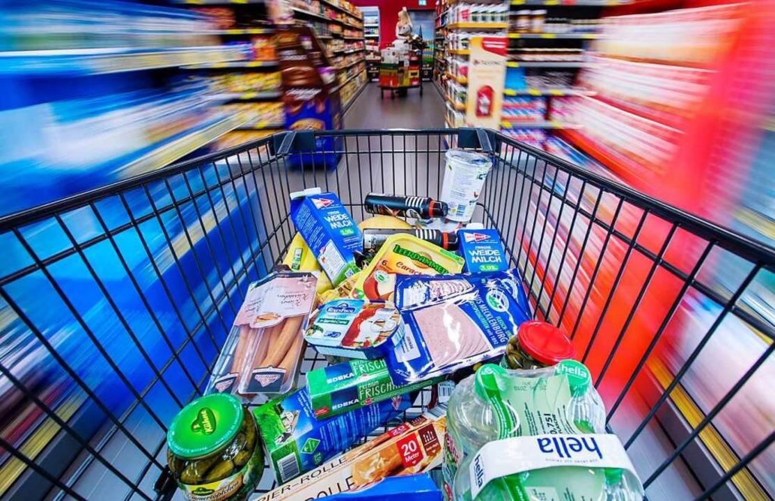 Sollen Pendler  aus dem Elsass gerade ...racher Einkaufsmarkt findet das nicht.  | Foto: Jens Büttner