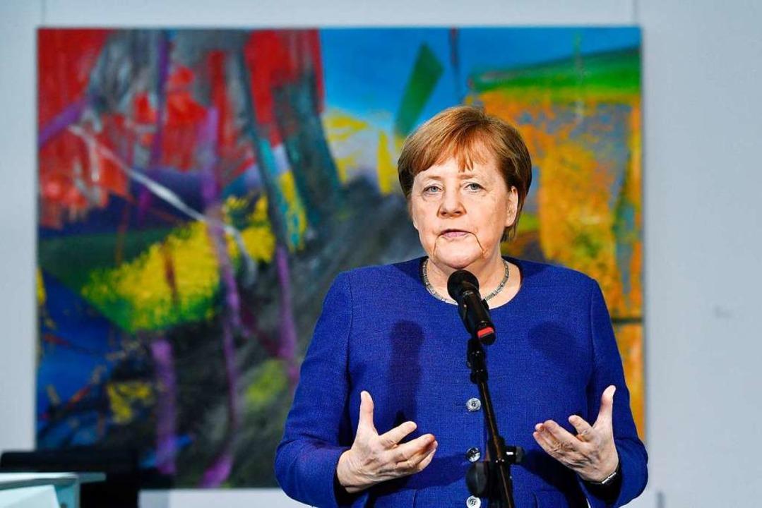 Bundeskanzlerin Angela Merkel  | Foto: John Macdougall (dpa)