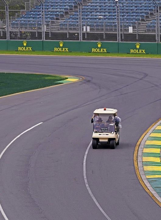 Schnellere Flitzer als dieser werden a...bert Park Circuit nicht zu sehen sein.    Foto: Michael Dodge (dpa)