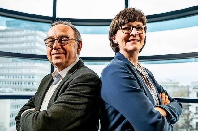 Der SPD geht es etwas besser – doch das liegt weniger an den beiden neuen Parteivorsitzenden