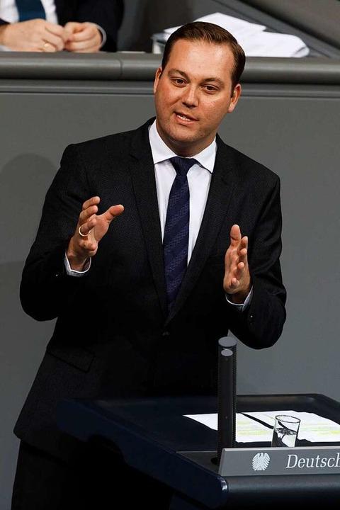 Bundestagsabgeordneter Felix Schreiner (CDU).  | Foto: Tobias Koch