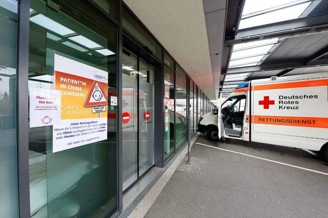 Genug Intensivbetten: Klinikchef Frede...niklinik für ausreichend ausgestattet.  | Foto: Ingo Schneider