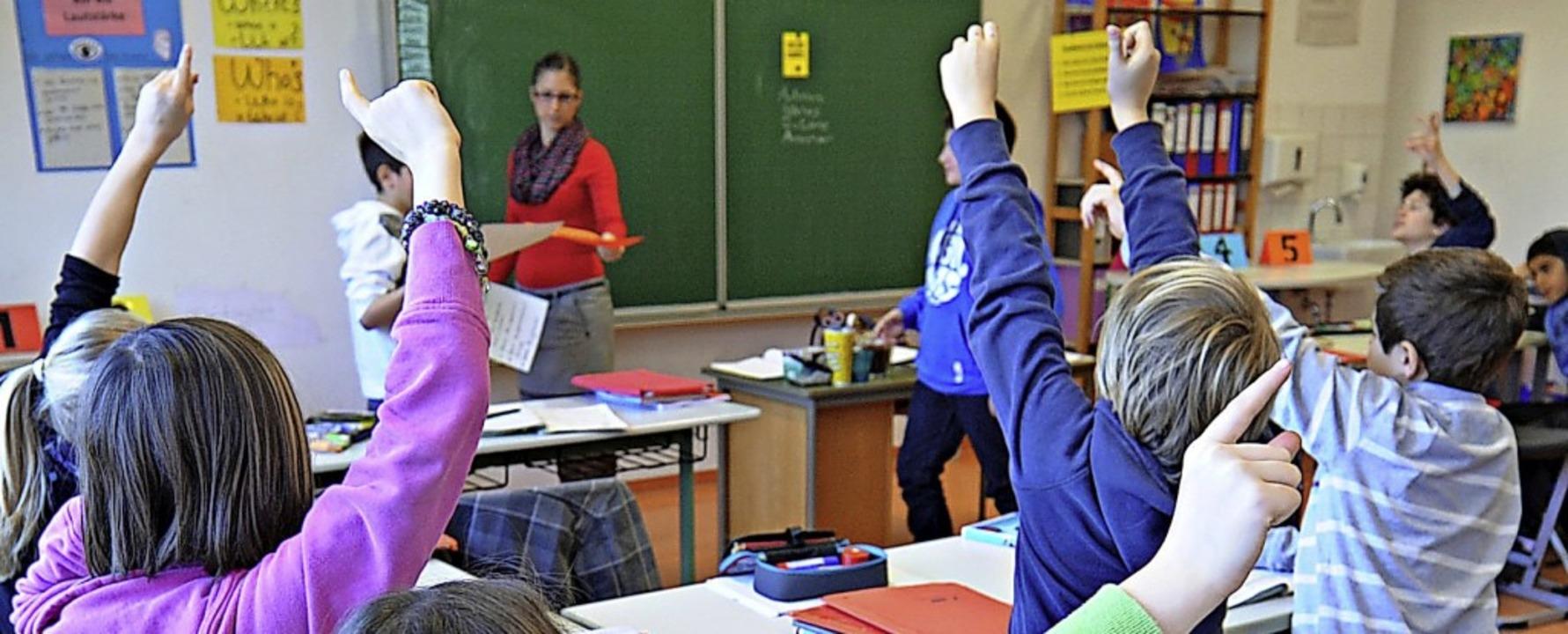 Welche weiterführende Schule ist die r...eiche Eltern und Schüler beantworten.     Foto: Franziska Kraufmann