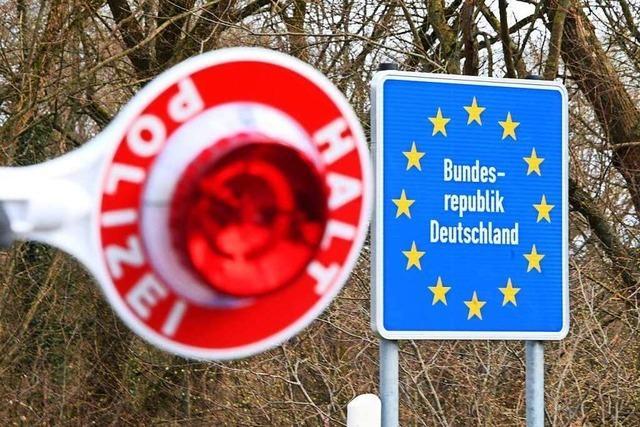 Innenminister Strobl fordert Schließung der Grenze zu Frankreich