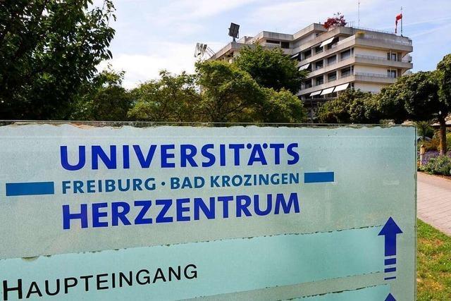 Besuche sind am Universitäts-Herzzentrum Bad Krozingen und der Uniklinik Freiburg untersagt