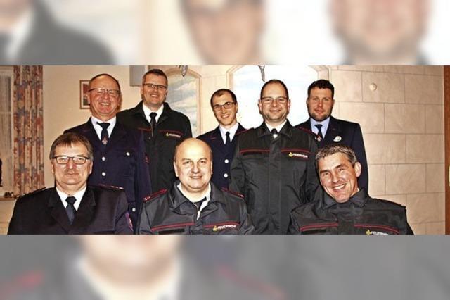 Feuerwehr Lausheim mit neuem Kommandanten