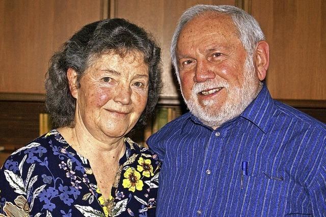 Seit 50 Ehejahren ein gemeinsamer Lebensweg