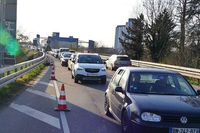 Angekündigte Grenzschließung verunsichert Deutsche und Franzosen