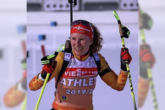 Achterbahnfahrt Biathlon