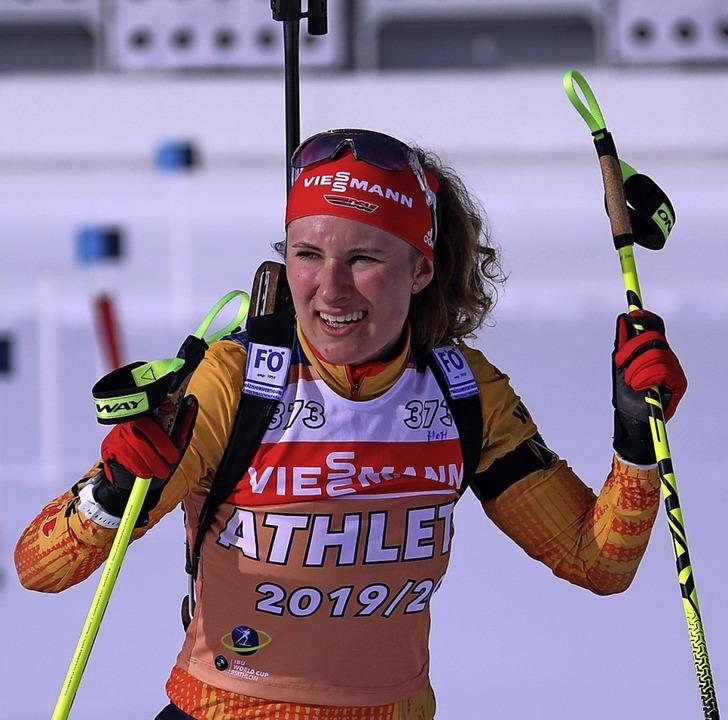 Aufsteigerin: Janina Hettich   | Foto: Joachim Hahne