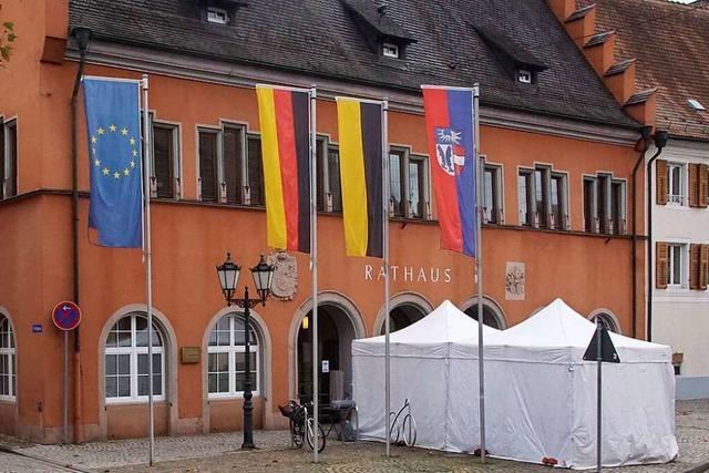 Kenzingen schließt seine Rathäuser