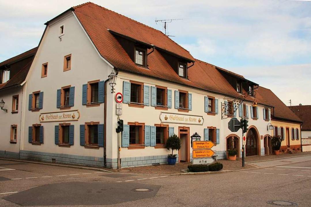 Das historische Gasthaus Krone in Bötz...er seine Pforten, unter neuer Führung.  | Foto: Mario Schöneberg
