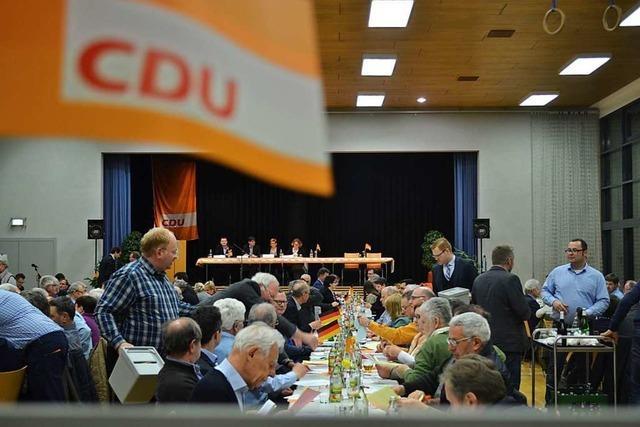 Der Kreisparteitag der CDU an diesem Donnerstag ist abgesagt