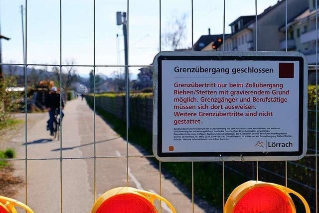 Die Landesgrenze zur Schweiz steht nun wieder zwischen Familien