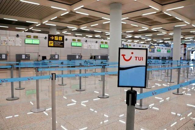 TUI-Konzern sagt seine Reisen ab