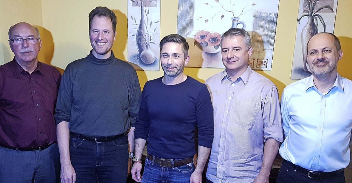 Der Vorstand (von links) Rolf Grandis,...nger, Jörg Eggeling,  Rolf Dornberger   | Foto: KKS Grenzach