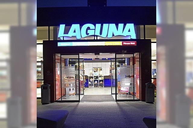 Laguna schließt am Dienstag