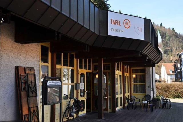 Der Schopfheimer Tafelladen ist weiter geöffnet, aber mit Einschränkungen