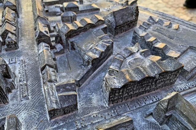 Barrierefreies Stadtmodell zum Bewundern und Tasten