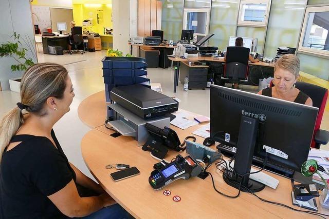 Verwaltung in Rheinfelden fährt den Betrieb weiter runter