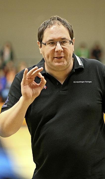 Auch vor Jahren schon engagiert an der...rk als Trainer der Köndringer A-Jugend  | Foto: Alexandra Buss