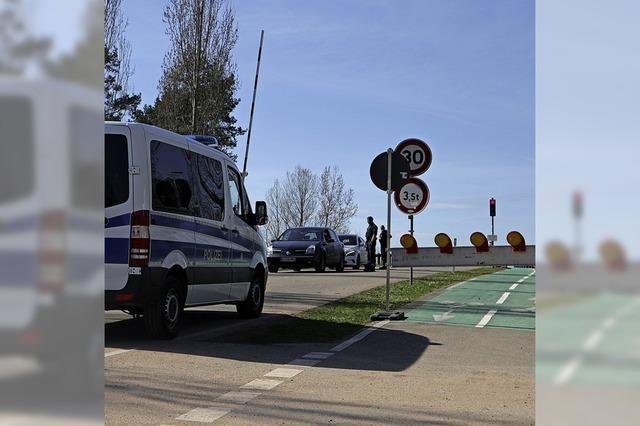 Grenze bei Hartheim geschlossen