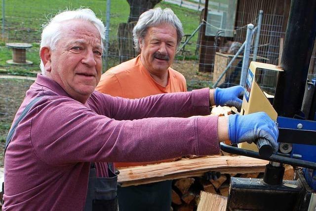 Der Holzverkauf in Maulburg läuft jetzt übers Handy