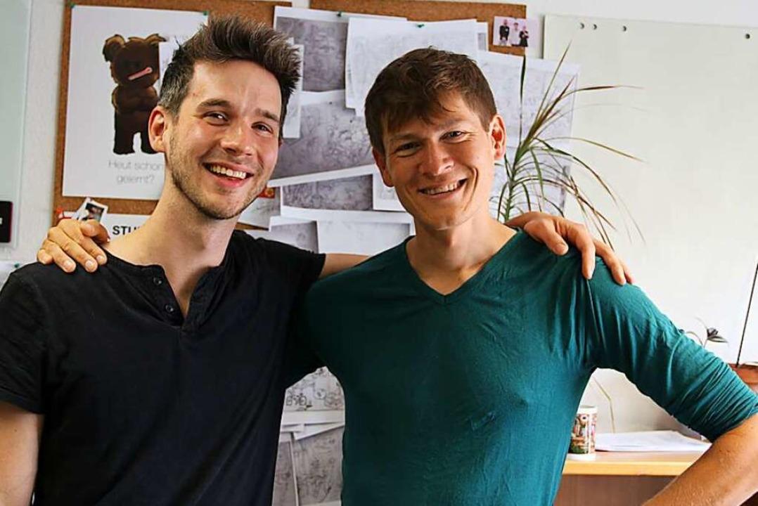 Die Gründer Michael Seifert  und Paul von Poellnitz (rechts).  | Foto: Felix Klingel