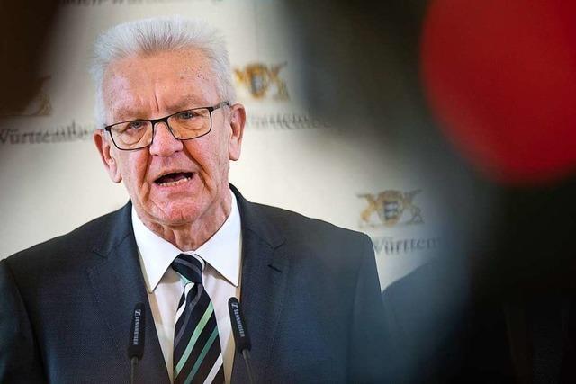 Livestream: Kretschmann informiert über aktuelle Beschlüsse zur Corona-Krise