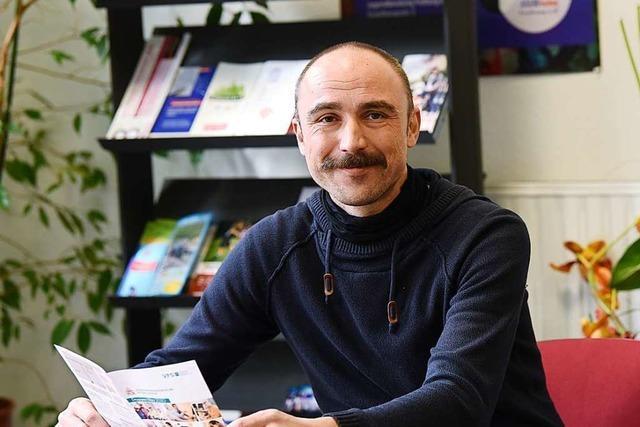 Udo Köhl ist neuer Quartiersarbeiter im Freiburger Stadtteil Stühlinger