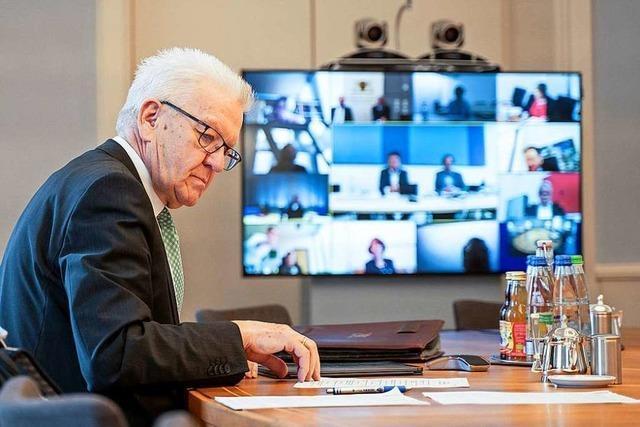 Kretschmann appelliert an Bürger, sich an Einschränkungen zu halten